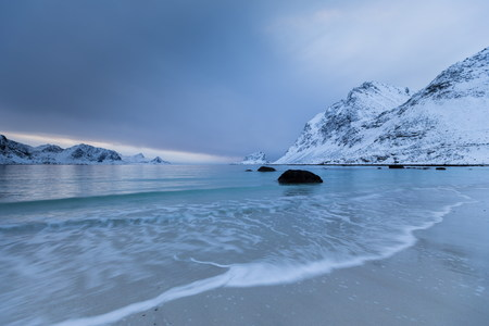 lofoten island beautiful natural landscape photo