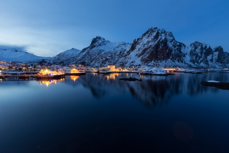 lofoten island Stock Photo