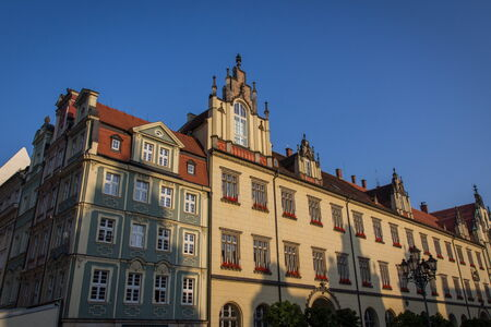 rynek: wroclaw historic center