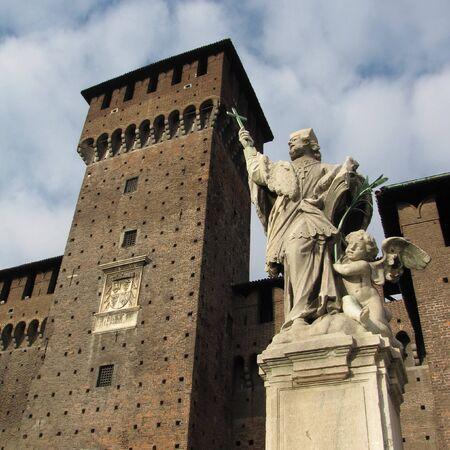 strives: milan castle Editorial