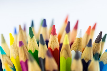 beautyful: colored pencils for beautyful drawings Stock Photo
