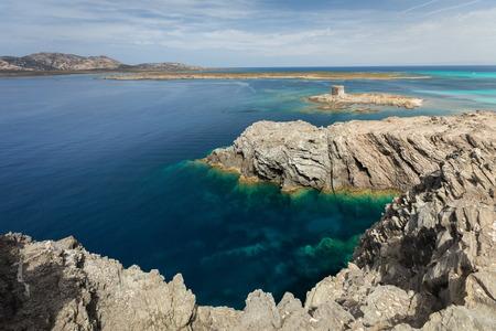 quite: stintino landscape with quite sea
