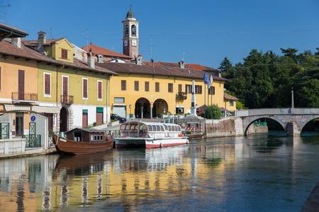 grande: Naviglio Grande at Boffalora sopra Ticino, Italy