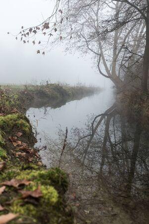 winter season in teh countryside