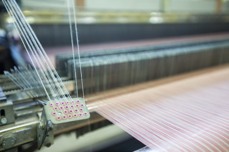 textile material for weaving industry