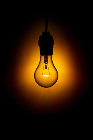 Light Bulb in Darkness