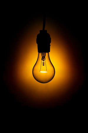 ideological: Light Bulb in Darkness