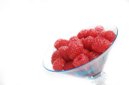 Raspberry's in Dessert Bowl 版權商用圖片