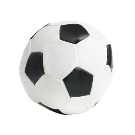 Football  soccer ball on a white background.