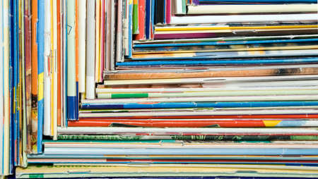 Composition of papers, magazines and others print works Stock Photo - 2607501
