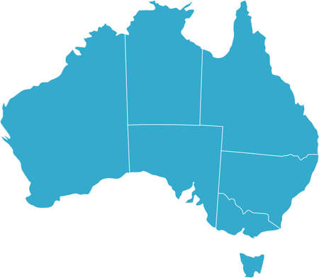 australia map: There is a map of Australia country