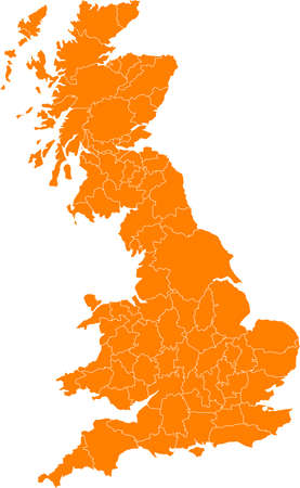 britannia: There is a map of Great Britain country