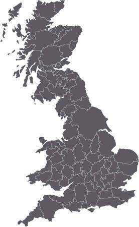 there: There is a map of Great Britain country