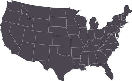 usa map: There is a map of USA country