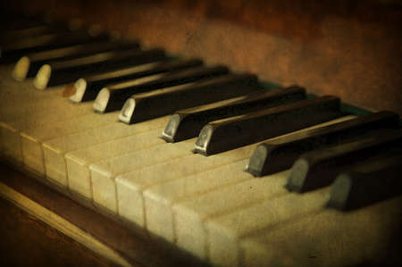 Black and white piano keys, music concept Reklamní fotografie