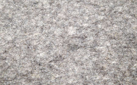 There is grey wool material for sewing  photo