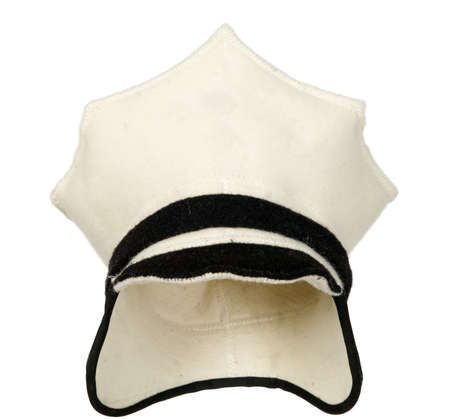 White police cap for the bath amenities Stock Photo - 13730545