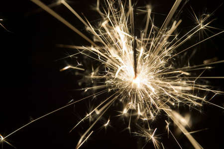 There is a background made from light of sparkler photo