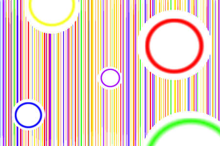 murk: Abstract illustration from many circles and lines