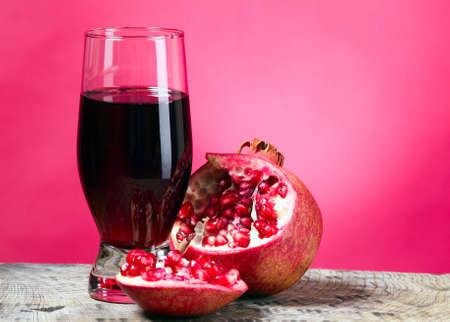 granate: Rojo granate con gusto de frutas, alimentos sanos concepto