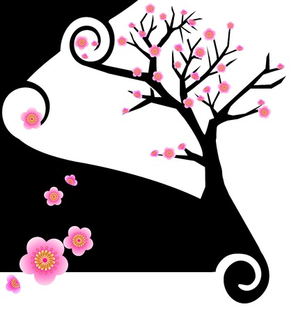 Sakura Creative Design Stock Vector - 3424873