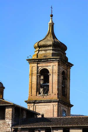 bell tower duomo terni in the historical part