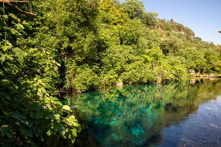 styphon river with clear, blue water