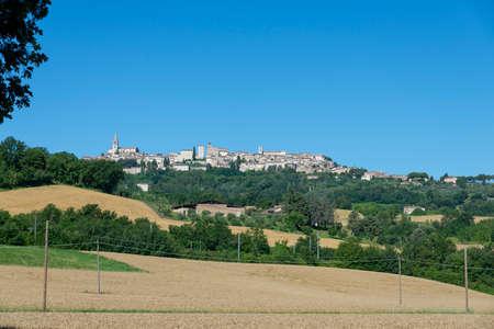 landscape in the country of Todi Archivio Fotografico