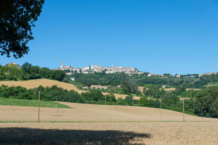 landscape in the country of Todi