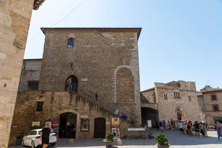 Church of San Silvestro in the main square of the town of Bevagna
