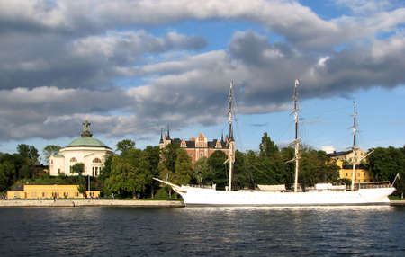 Stockholm City with Chapman boat photo