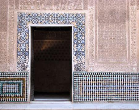 グラナダ: イスラム美術や建築、アルハンブラ宮殿、スペイン