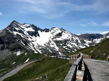 grossglockner: Grossglockner in Alps