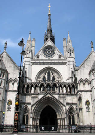 Royal Courts of Justice in London, England Stock Photo - 9455020