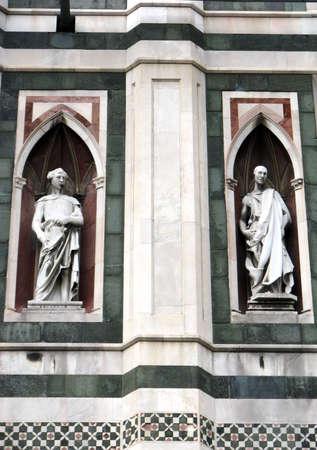 marmol: Florence Duomo - details Stock Photo