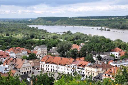 Kazimierz Dolny in Poland, view from Three Crosses Hill Publikacyjne