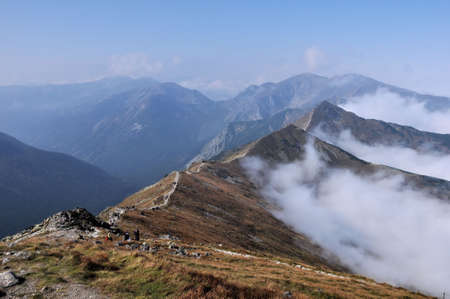 tatry: Tatry Mountain in autumn