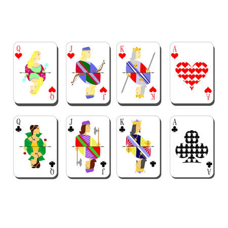 beautiful and original designer playing cards.