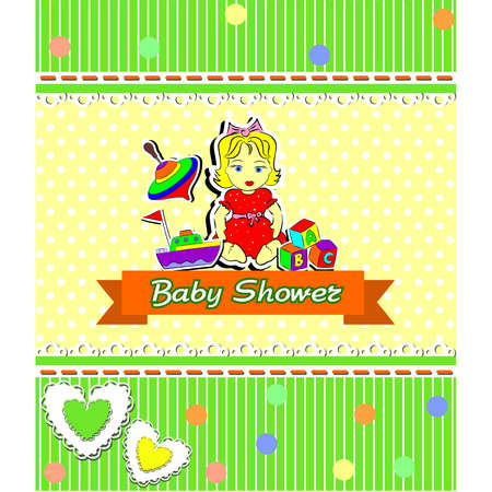 pinwheel toy: illustration dedicated to the  baby shower .