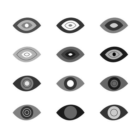 hid: the illustration dedicated to the  different eyes . Illustration