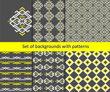 backing: the Illustration dedicated to the pattern background set.