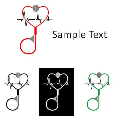 heal sickness: the Illustration dedicated to the medicine symbols.