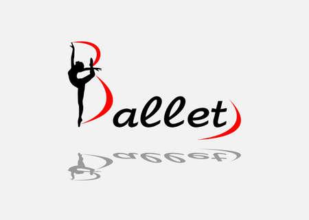 ballet: la ilustraci�n vectorial dedicada al ballet.