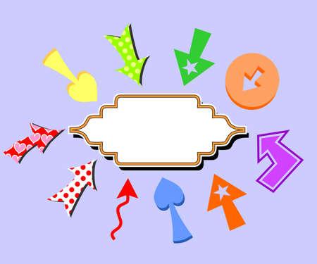 substrate: ilustraci�n dedicada a la plantilla y flechas.