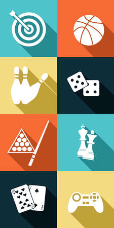 traje formal: ilustraci�n dedicada a juegos - naipes, bolos, billar, dardos, f�tbol, ??ajedrez, juegos de ordenador.