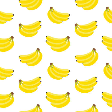 tasty: seamless background with juicy and tasty fruits -  bananas.