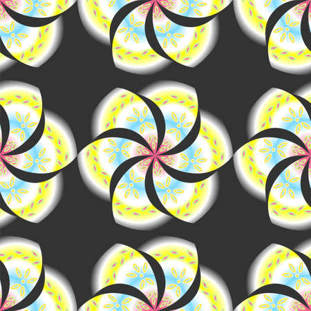 esotericism: illustration background with beautiful mandalas on the theme of esotericism.