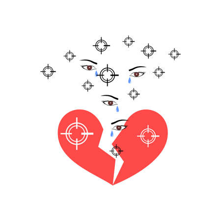 unrequited love: unrequited love and pain icon.