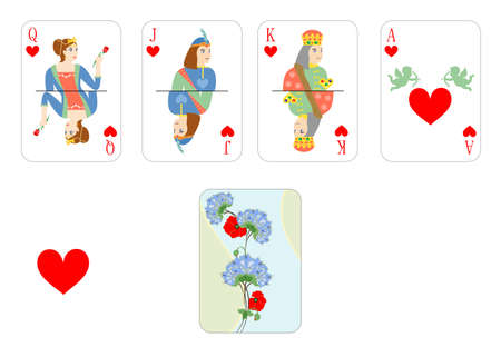 jack of hearts: the beautiful and original designer playing cards.