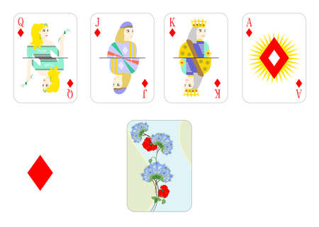 solitaire: the beautiful and original designer playing cards.